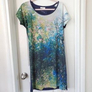 EUC unique Paul Smith Photo Print Jersey dress